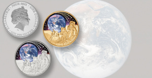Niue issues commemorative silver and gold 'Blue Marble' commemoratives